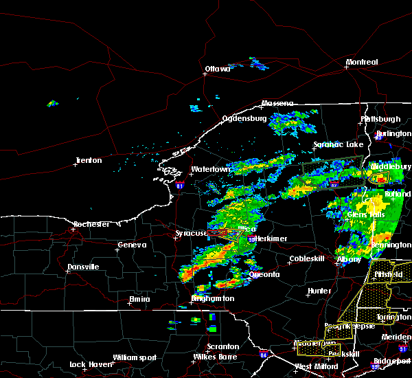 Radar Image for Severe Thunderstorms near New Hartford, NY at 6/30/2017 5:08 PM EDT