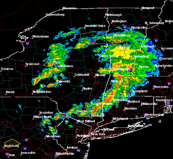 Radar Image for Severe Thunderstorms near Canaan, CT at 6/30/2017 5:20 PM EDT