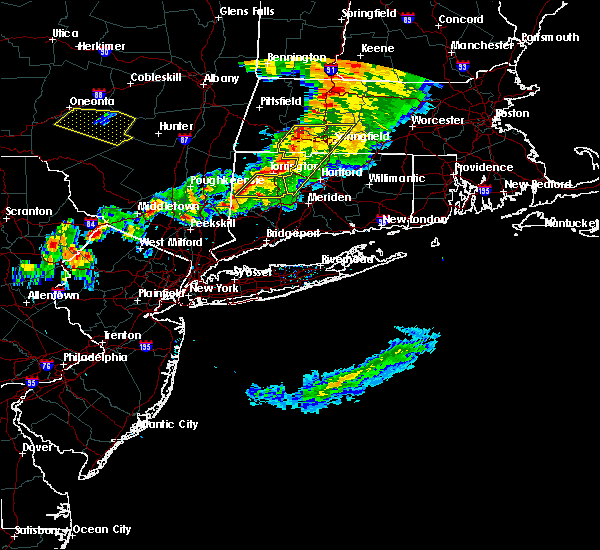 Radar Image for Severe Thunderstorms near Waterbury, CT at 6/30/2017 5:50 PM EDT
