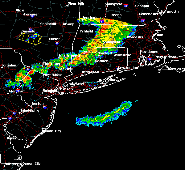 Radar Image for Severe Thunderstorms near Agawam Town, MA at 6/30/2017 5:55 PM EDT