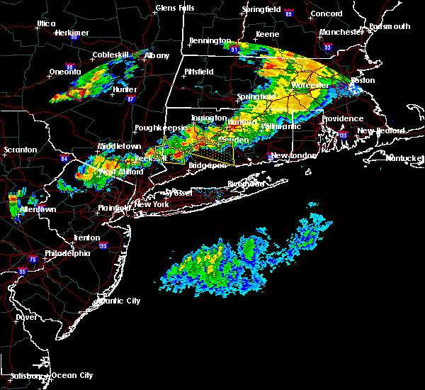 Radar Image for Severe Thunderstorms near Cheshire Village, CT at 6/30/2017 6:42 PM EDT