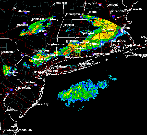 Radar Image for Severe Thunderstorms near Cheshire Village, CT at 6/30/2017 6:59 PM EDT