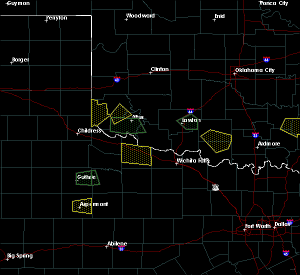 Radar Image for Severe Thunderstorms near Vernon, TX at 6/30/2017 8:27 PM CDT
