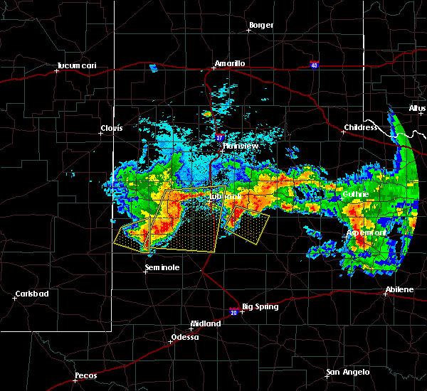 Radar Image for Severe Thunderstorms near Post, TX at 7/1/2017 2:01 AM CDT