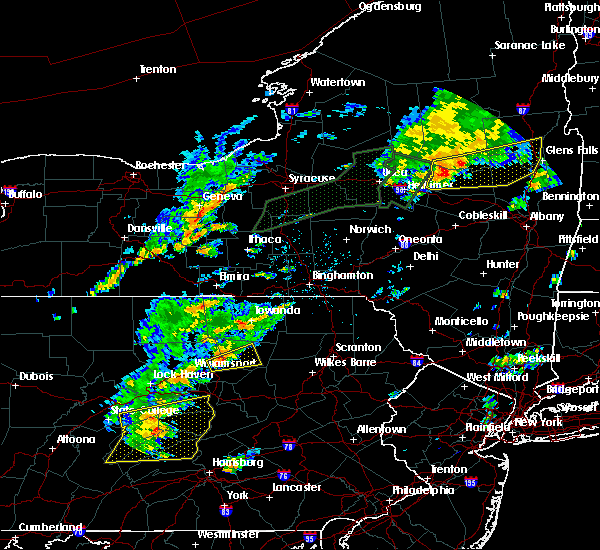 Radar Image for Severe Thunderstorms near Picture Rocks, PA at 7/1/2017 1:42 PM EDT