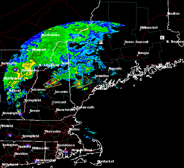 Radar Image for Severe Thunderstorms near Oxford, ME at 7/1/2017 2:10 PM EDT