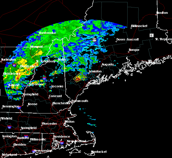 Radar Image for Severe Thunderstorms near Gray, ME at 7/1/2017 2:37 PM EDT