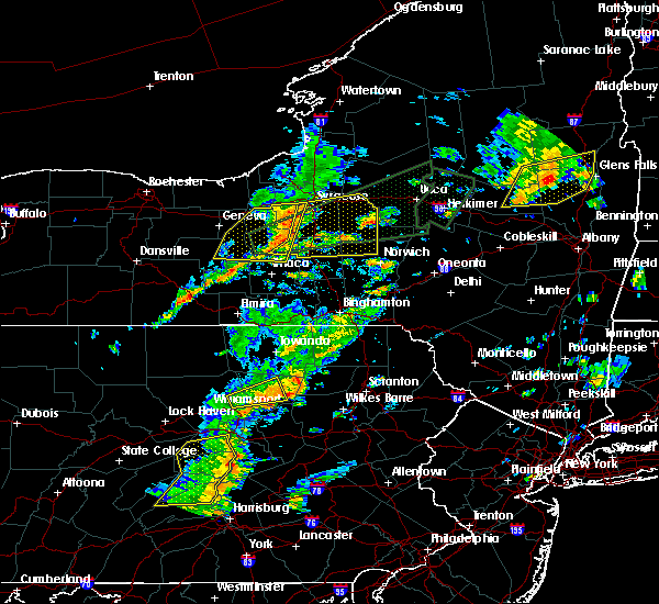 Radar Image for Severe Thunderstorms near Cortland West, NY at 7/1/2017 2:38 PM EDT