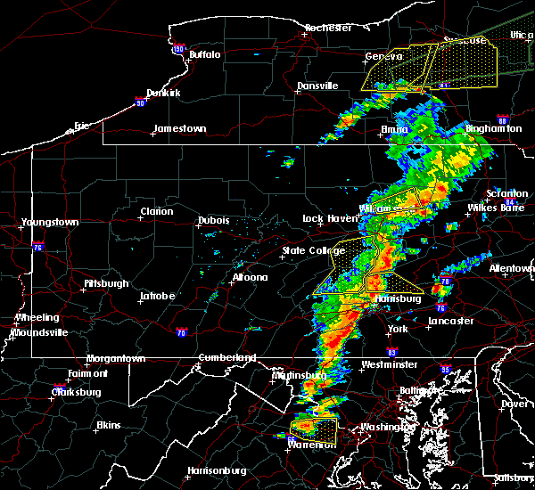 Radar Image for Severe Thunderstorms near Jonestown, PA at 7/1/2017 2:46 PM EDT