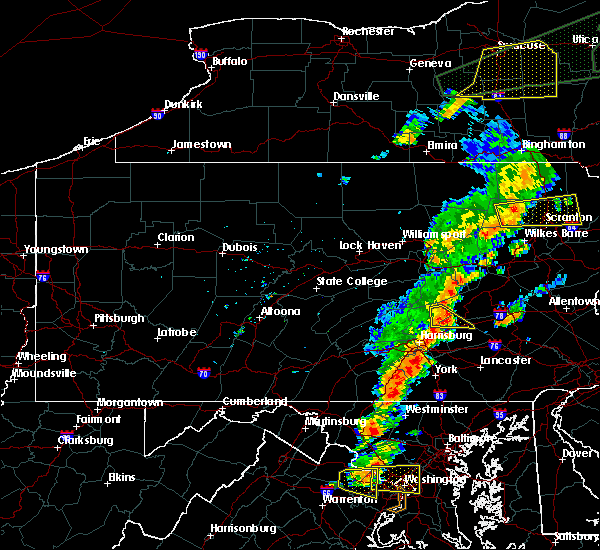 Radar Image for Severe Thunderstorms near Jonestown, PA at 7/1/2017 3:05 PM EDT