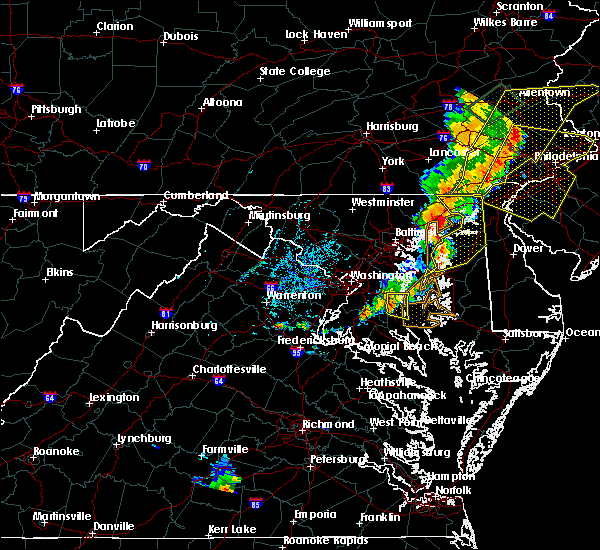 Radar Image for Severe Thunderstorms near Croom, MD at 7/1/2017 5:04 PM EDT