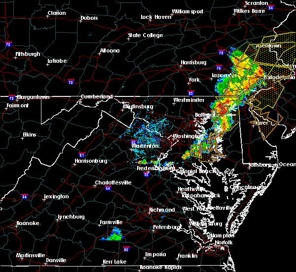 Radar Image for Severe Thunderstorms near Aquasco, MD at 7/1/2017 5:14 PM EDT