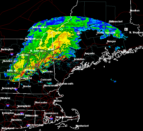 Radar Image for Severe Thunderstorms near Oxford, ME at 7/1/2017 5:14 PM EDT
