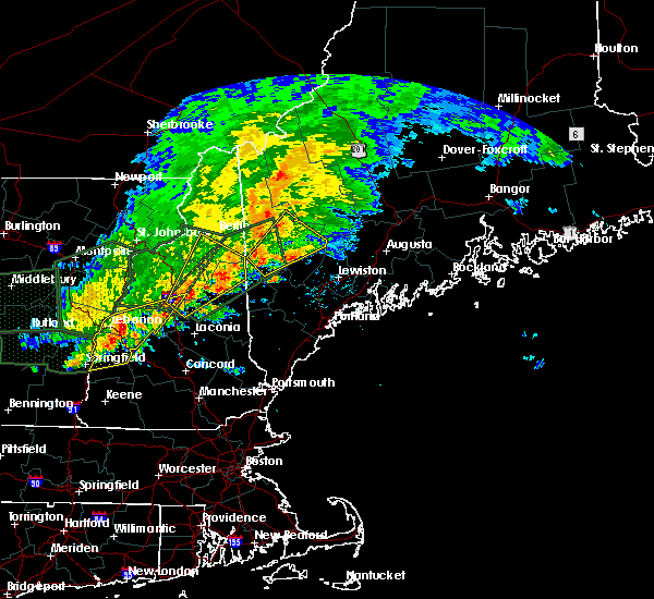 Radar Image for Severe Thunderstorms near Dixfield, ME at 7/1/2017 5:30 PM EDT