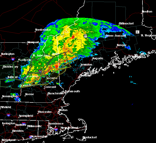 Radar Image for Severe Thunderstorms near Bridgton, ME at 7/1/2017 5:53 PM EDT