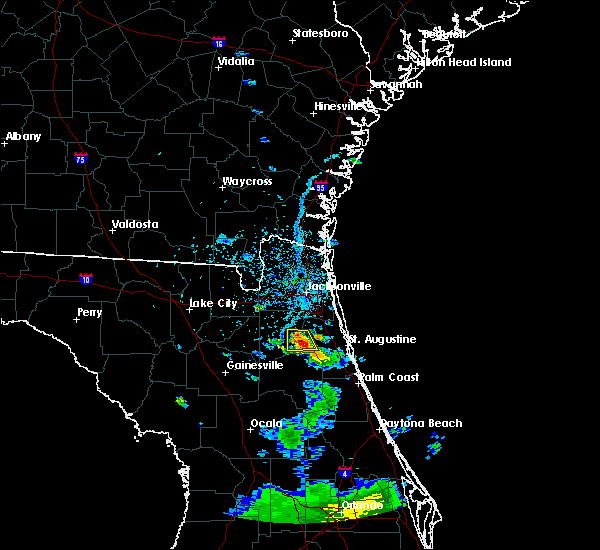 Radar Image for Severe Thunderstorms near Asbury Lake, FL at 7/1/2017 6:12 PM EDT