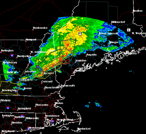 Radar Image for Severe Thunderstorms near Bridgton, ME at 7/1/2017 6:26 PM EDT