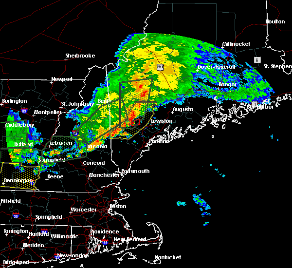 Radar Image for Severe Thunderstorms near Oxford, ME at 7/1/2017 6:47 PM EDT