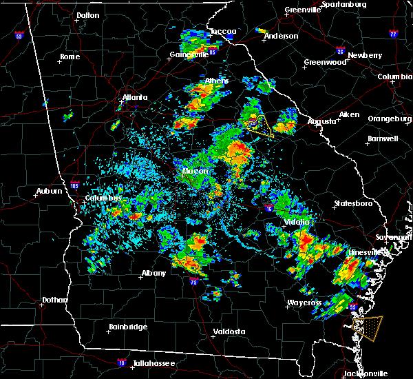 Radar Image for Severe Thunderstorms near Warrenton, GA at 7/2/2017 3:31 PM EDT