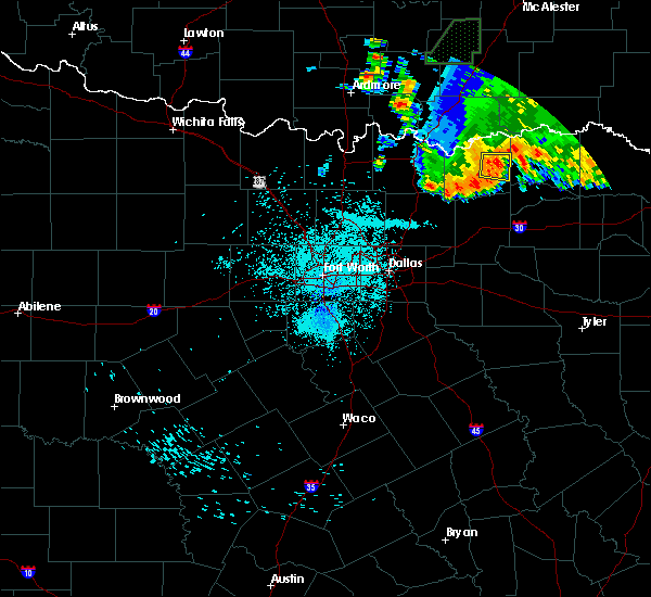 Radar Image for Severe Thunderstorms near Honey Grove, TX at 7/3/2017 12:30 AM CDT