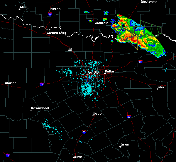 Radar Image for Severe Thunderstorms near Honey Grove, TX at 7/3/2017 3:12 AM CDT