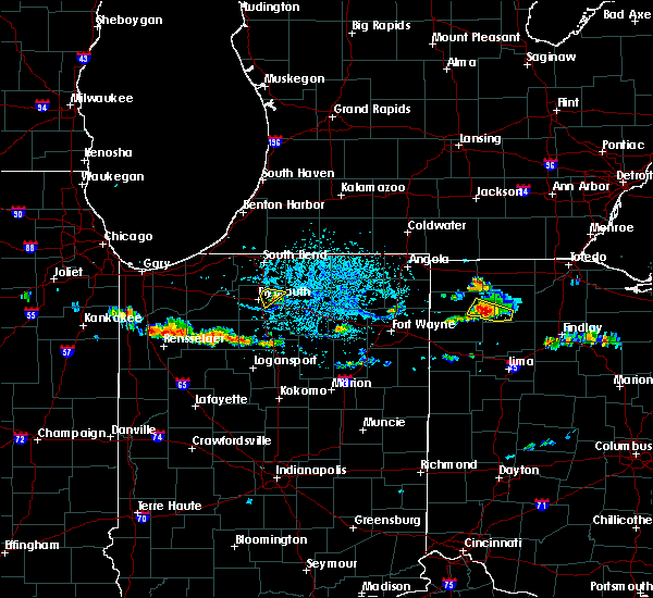 Radar Image for Severe Thunderstorms near Holgate, OH at 7/3/2017 4:26 PM EDT