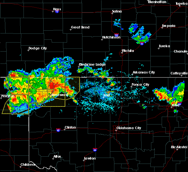 Radar Image for Severe Thunderstorms near Woodward, OK at 7/3/2017 5:44 PM CDT