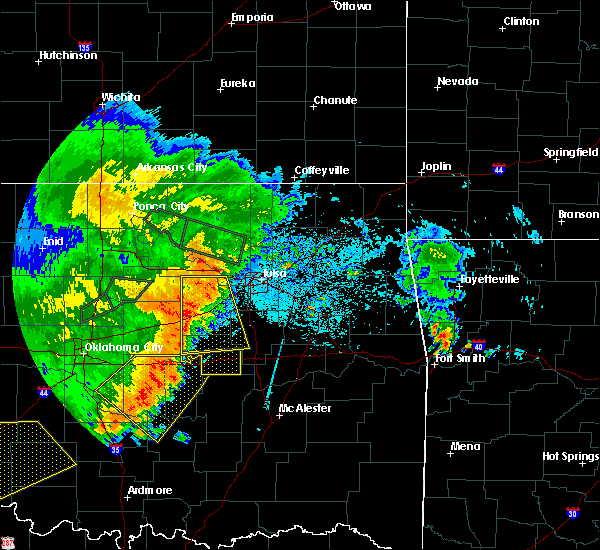 Radar Image for Severe Thunderstorms near Beggs, OK at 7/3/2017 10:48 PM CDT