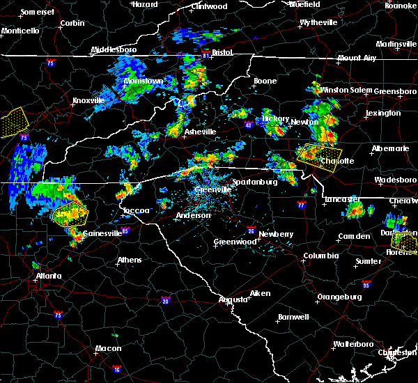 Radar Image for Severe Thunderstorms near Harrisburg, NC at 7/5/2017 5:33 PM EDT
