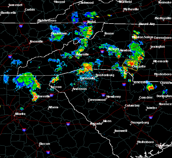 Radar Image for Severe Thunderstorms near Harrisburg, NC at 7/5/2017 5:54 PM EDT