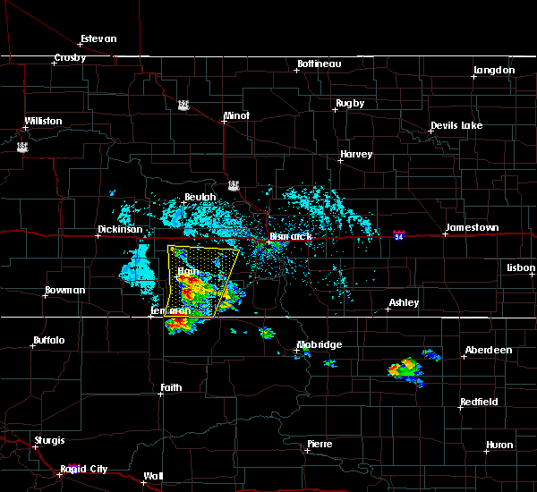 Radar Image for Severe Thunderstorms near Flasher, ND at 7/5/2017 4:25 PM MDT