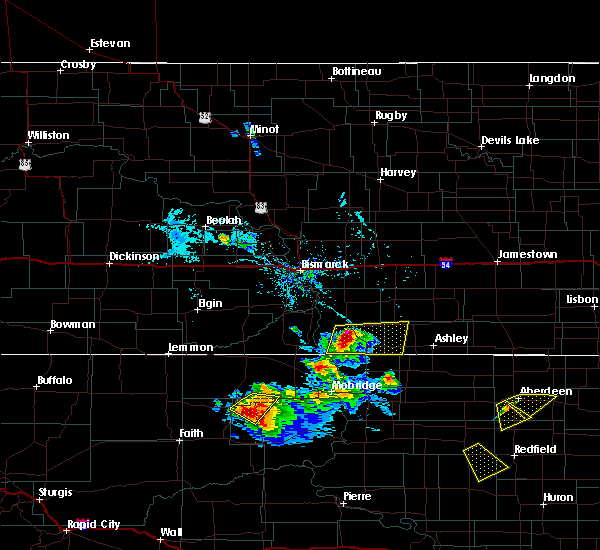 Radar Image for Severe Thunderstorms near Green Grass, SD at 7/5/2017 5:51 PM MDT