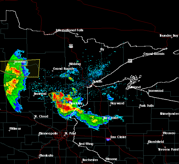 Radar Image for Severe Thunderstorms near Boy River, MN at 7/6/2017 3:13 AM CDT
