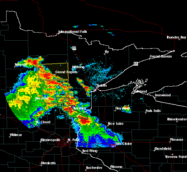 Radar Image for Severe Thunderstorms near Cuyuna, MN at 7/6/2017 4:26 AM CDT