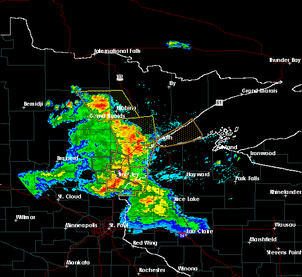 Radar Image for Severe Thunderstorms near Pine City, MN at 7/6/2017 5:22 AM CDT