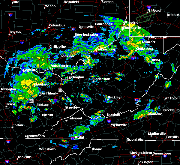 Radar Image for Severe Thunderstorms near Albany, OH at 7/6/2017 4:42 PM EDT