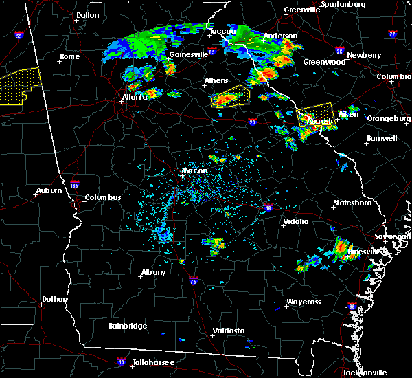 Radar Image for Severe Thunderstorms near Rayle, GA at 7/6/2017 4:57 PM EDT