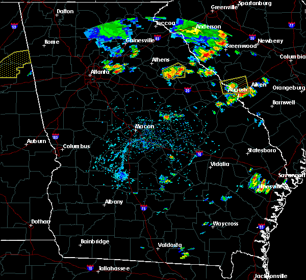 Radar Image for Severe Thunderstorms near Rayle, GA at 7/6/2017 5:12 PM EDT