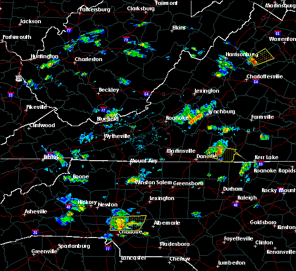 Radar Image for Severe Thunderstorms near Mountain Road, VA at 7/6/2017 5:40 PM EDT