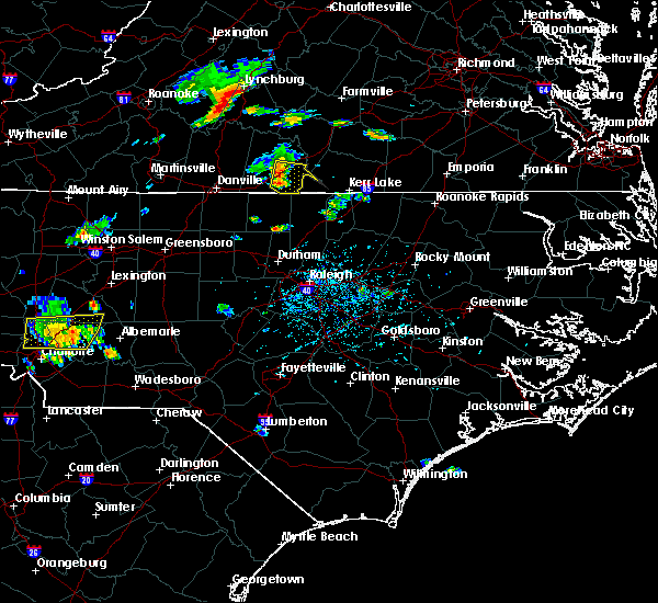 Radar Image for Severe Thunderstorms near Virgilina, VA at 7/6/2017 5:50 PM EDT