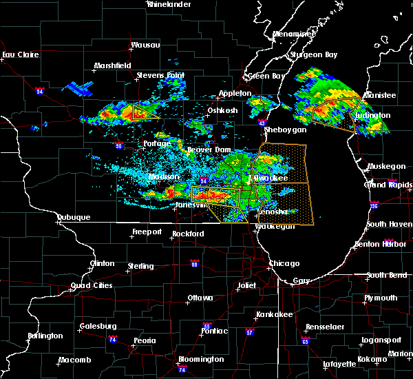 Radar Image for Severe Thunderstorms near Lake Catherine, IL at 7/7/2017 12:18 AM CDT