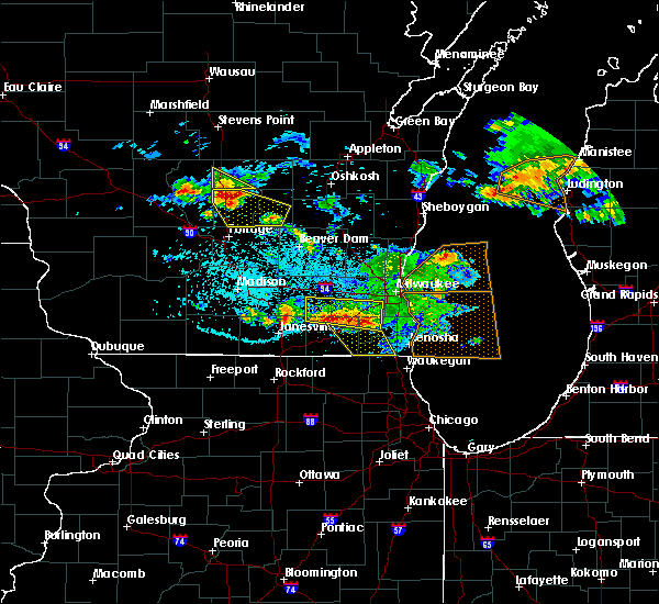 Radar Image for Severe Thunderstorms near Endeavor, WI at 7/7/2017 12:25 AM CDT