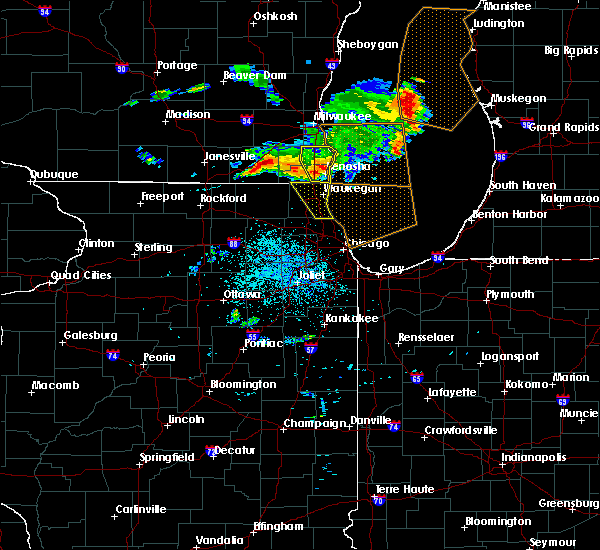 Radar Image for Severe Thunderstorms near Round Lake, IL at 7/7/2017 1:04 AM CDT