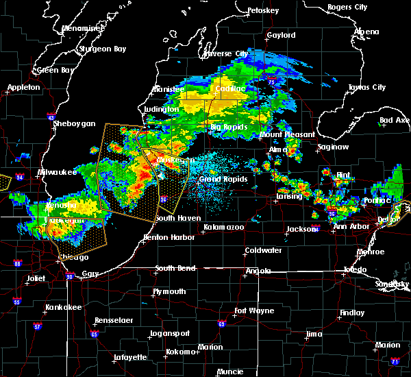 Radar Image for Severe Thunderstorms near Casnovia, MI at 7/7/2017 2:52 AM EDT