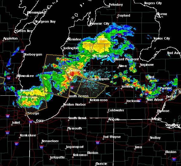 Radar Image for Severe Thunderstorms near Dowling, MI at 7/7/2017 3:01 AM EDT
