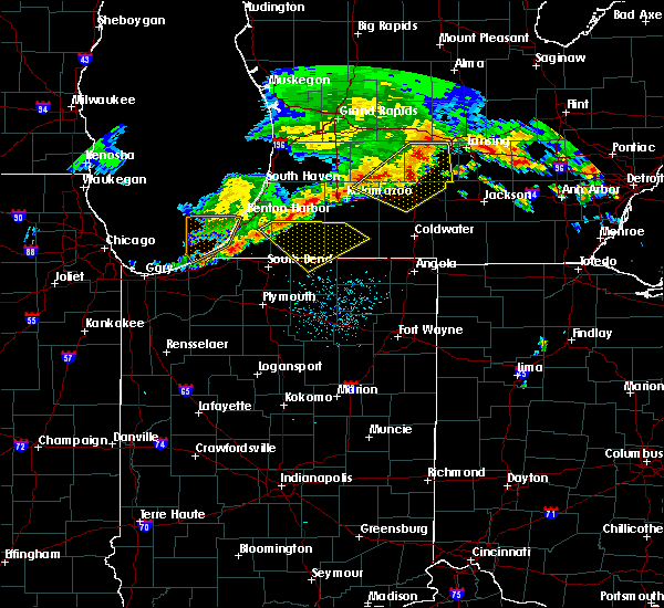 Radar Image for Severe Thunderstorms near Dunlap, IN at 7/7/2017 4:05 AM EDT