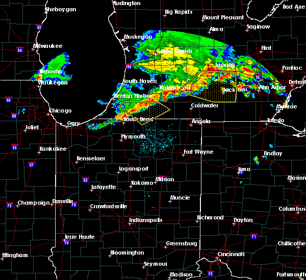 Radar Image for Severe Thunderstorms near Dunlap, IN at 7/7/2017 4:26 AM EDT
