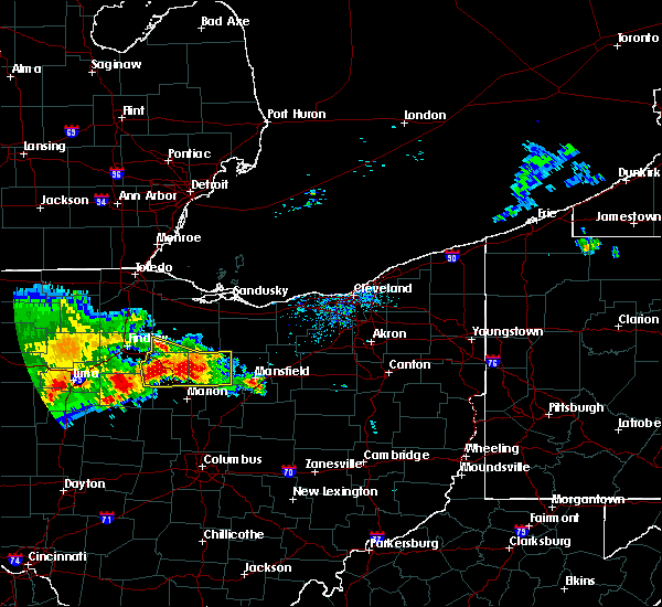 Radar Image for Severe Thunderstorms near Bucyrus, OH at 7/7/2017 12:08 PM EDT