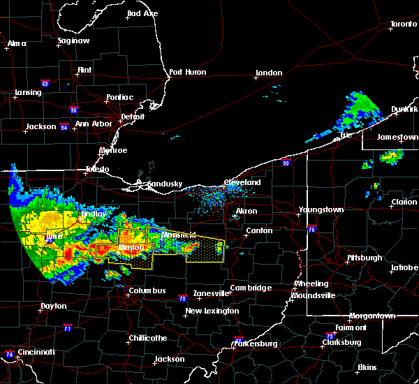 Radar Image for Severe Thunderstorms near Marengo, OH at 7/7/2017 12:47 PM EDT