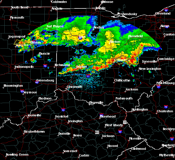 Radar Image for Severe Thunderstorms near New Albany, OH at 7/7/2017 2:03 PM EDT
